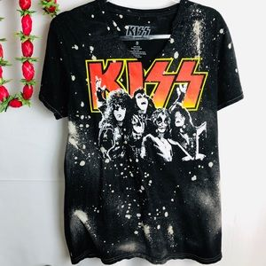 KISS Graphic T Shirt size S